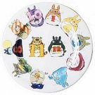 1 left - Plate - 27cm - Made in Japan - Noritake - Totoro - Museum Wrap & Bag & Card & Sticker (new)