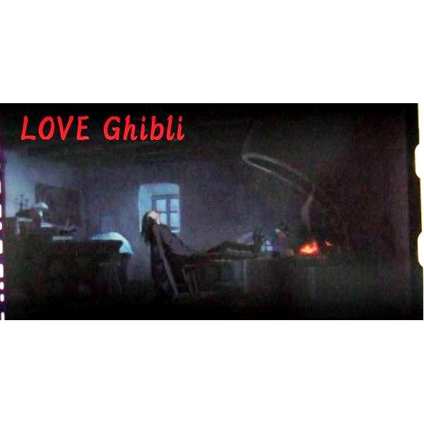 1 left - Bookmarker - Movie Film #15 - 6 Frame - Howl Bird - Howl's Moving - Ghibli Museum (new)