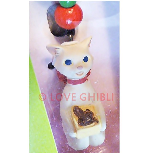 Strap Holder - Beads - Yuki chan - Cat Returns - Ghibli - no production (new)