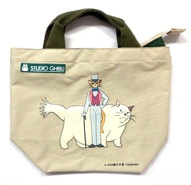 1 left - Tote Bag - Baron & Muta - Cat Returns - Ghibli - no production (new)