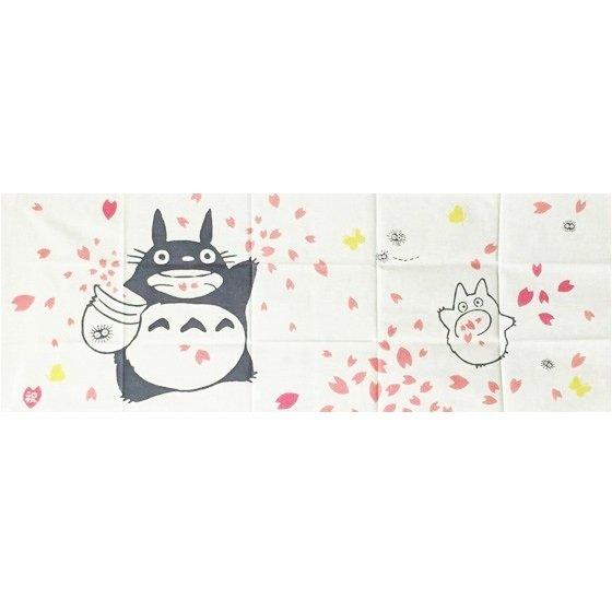 2 left- Towel Tenugui -33x90cm- Sakura - Japanese Dyed Made Japan Totoro Ghibli no production (new)