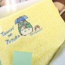 4 left - Baby Mini Towel - Embroidery - Yellow - Totoro - Ghibli - Sun Arrow - no production (new)