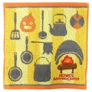 Mini Towel - 25x25cm - Jacquard Embroidery - Calcifer - Howl's Moving Castle - Ghibli - 2017 (new)
