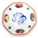 Plate -Octagonal- Porcelain- Made Japan - Kaonashi Ootorisama Haku Dragon - Spirited Away 2017 (new)