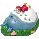 1 left - Music Box Orgel - Porcelain - Totoro & Mei - Ghibli - Sekiguchi - no production (new)