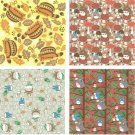 Chiyogami Japanese Paper Washi 20 Sheet 4 Design 15x15cm -Autumn- Made Japan Totoro Ensky 2017 (new)
