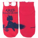 Socks - 23-25cm - Short - Red Kiki - Kiki's Delivery Service - Ghibli 2015 no production (new)