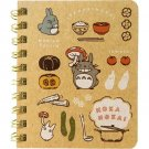 Mini Ring Memo Notebook - Kitchen - Totoro - Ghibli - 2017 (new)