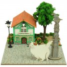 Miniatuart Kit - Mini Paper Craft Kit - Muta & Cat's Office - Cat Returns - Ghibli - 2017 (new)