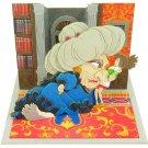 Miniatuart Kit - Mini Paper Craft Kit - Chihiro & Yubaba - Spirited Away - Ghibli - 2015 (new)