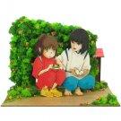 Miniatuart Kit - Mini Paper Craft Kit - Sen & Haku - Spirited Away - Ghibli - 2017 (new)
