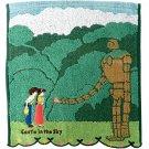 Hand Towel - 34x36cm - Steam Shirring - Embroidery - Pazu & Sheeta - Laputa - Ghibli 2017 (new)