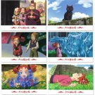 6 Postcards - Made in Japan - Mary and the Witch's Flower / Mary to Majo no Hana - Ghibli 2017 (new)