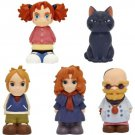 5 Finger Doll - Tib Peter Red Headed Witch Dr Dee - Mary and the Witch's Flower Ghibli 2017 (new)