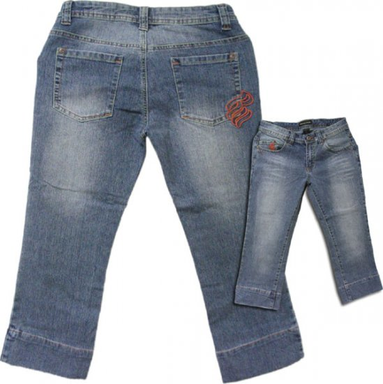 Womens Rocawear Denim Capris