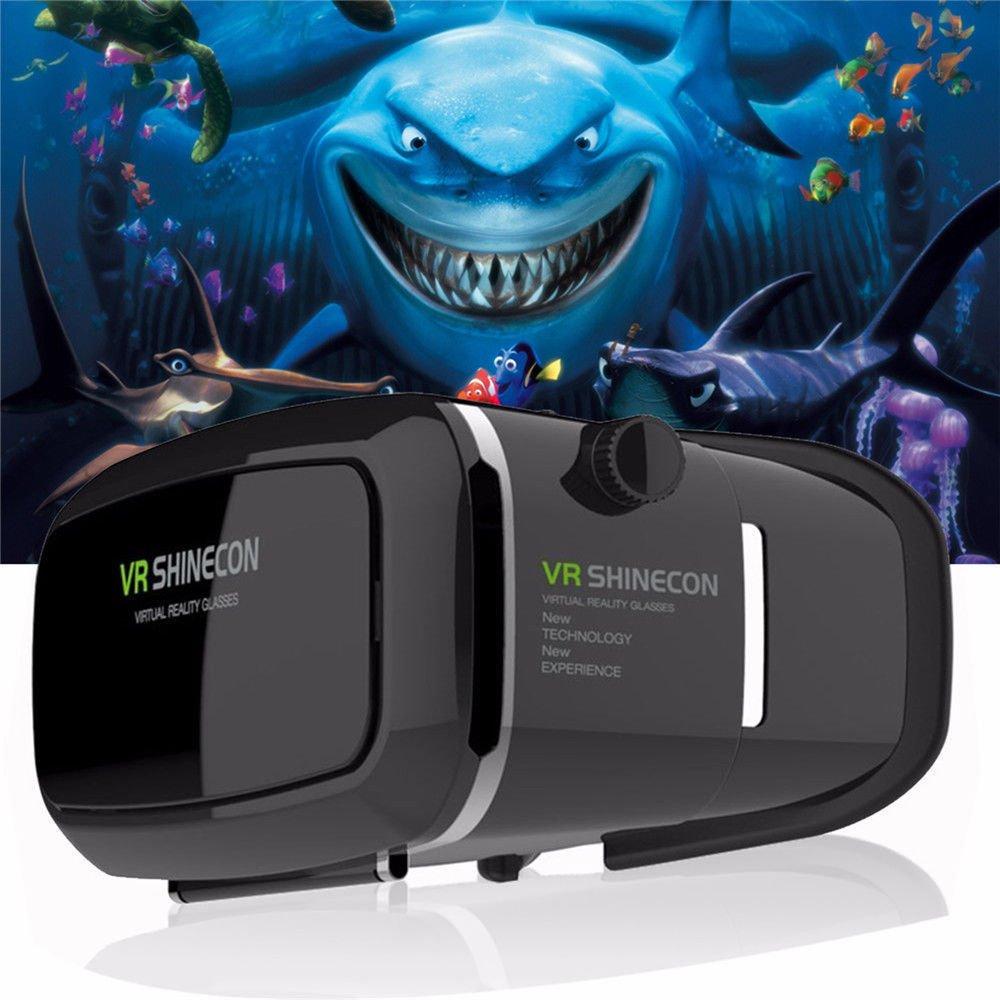 New Version 3D VR Virtual Reality Glasses Headset. Adjustable 3D Glasses