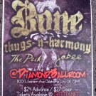 BONE THUGS N HARMONY pack Jabee CONCERT poster collectible