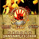 FIVE FINGER DEATH PUNCH concert poster HEATFIX 5FDP