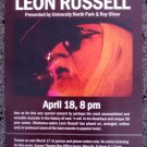 LEON RUSSELL rare promotional CONCERT poster collectible