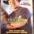 RODNEY CARRINGTON rare Promotional show concert poster