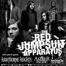 RED JUMPSUIT APPARATUS hawthorne heights CONCERT poster collectible