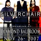SILVERCHAIR rare collectible CONCERT POSTER