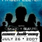 FINGER ELEVEN rare CONCERT POSTER sickpuppies collectible