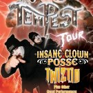 INSANE CLOWN POSSE rare TWIZTID concert poster collectible