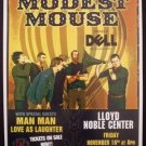 MODEST MOUSE promotional CONCERT poster man man