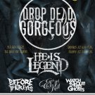 "Drop Dead Gorgeous He Is Lengend Before Their Eyes Eyes Set To Kill 11"" x 17"" Concert Poster"
