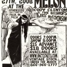 "Blind Melon with Cody Clinton & The Bishops and Eric Hutchinson  11"" x 17"" Concert Poster"