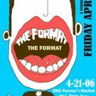 "The Format promotional 11"" x 17"" Concert Poster"