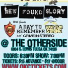 "New Found Glory with A Day To Remember & Crime in Stereo 11"" x 17"" Concert Poster"