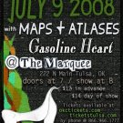 "Me Without You with Maps & Atlases & Gasoline Heart 11"" x 17"" Concert Poster"