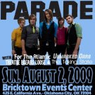 "MayDay Parade with For the Atlantic & Unmarked Cars & Taking State 11"" x 17"" Concert Poster"
