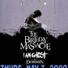 "Birthday Massacre with I Am Ghost & Dommin 11"" x 17"" Concert Poster"