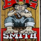 "Big Smith promotional Thom Self 13"" x 19"" Concert Poster"