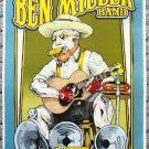 "Ben Miller Band promotional Thom Self 13"" x 19"" Concert Poster"