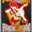 "Back Porch Mary with Brandon Clark Band promotional Thom Self 13"" x 19"" Concert Poster"