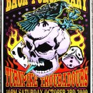 """Back Porch Mary with Turnpike Troubadours promotional Thom Self 13"""" x 19"""" Concert Poster"""
