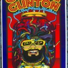 "George Clinton and The P-Funk Allstars promotional Thom Self 13"" x 19"" Concert Poster"