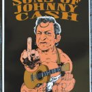 "Bastard Sons of Johnny Cash promotional Thom Self 13"" x 19"" Concert Poster"