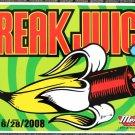 "Freak Juice promotional Thom Self 18"" x 12"" Concert Poster"