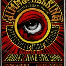 """Jimmy Herring of Widespread Panic fayetteville funk Thom Self 13"""" x 19"""" Concert Poster"""