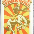 "Jeremy Johnson & the Lonesome Few promotional Thom Self 13"" x 19"" Concert Poster"