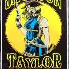 "Jackson Taylor & the Sinners promotional Thom Self 13"" x 19"" Concert Poster"