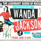 "Wanda Jackson promotional Thom Self 13"" x 19"" Concert Poster"