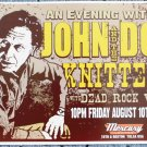 "John Doe and The Knitters with Dead Rock West Thom Self 13"" x 19"" Concert Poster"
