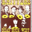 "The Knitters with Dead Rock West promotional Thom Self 13"" x 19"" Concert Poster"