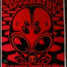 "Red Jumpsuit Apparatus with Tickle Me Pink & The Becoming Thom Self 13"" x 19"" Concert Poster"